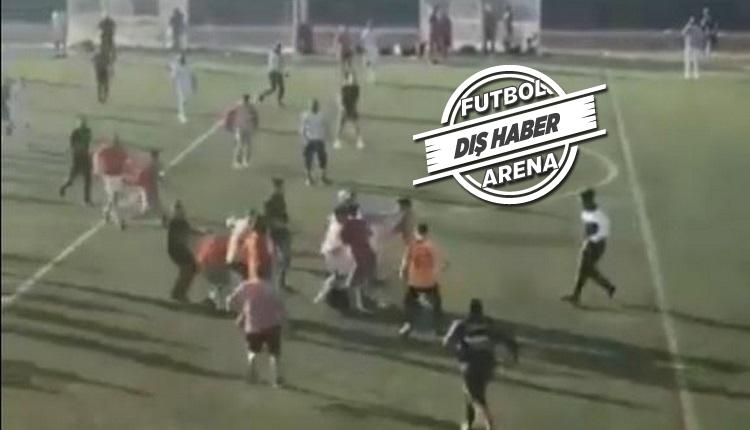 İngiltere'de amatör Türk takımlarının maçında hakeme saldırı
