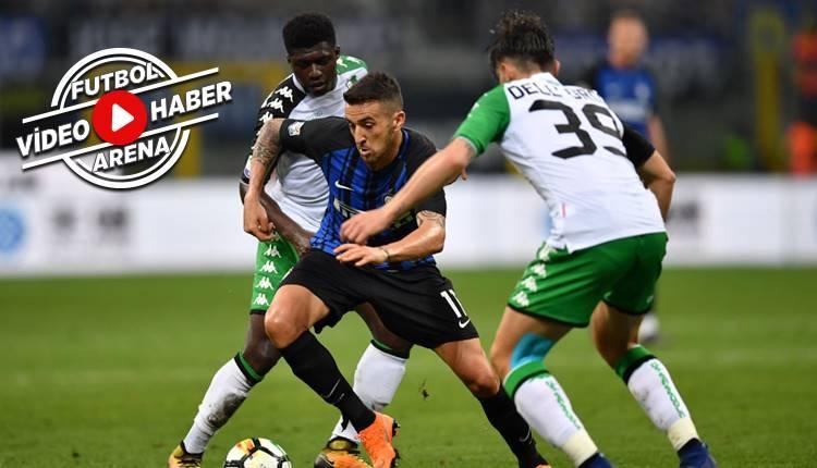 İnter 1-2 Sassuolo maçı özeti ve golleri (İZLE)