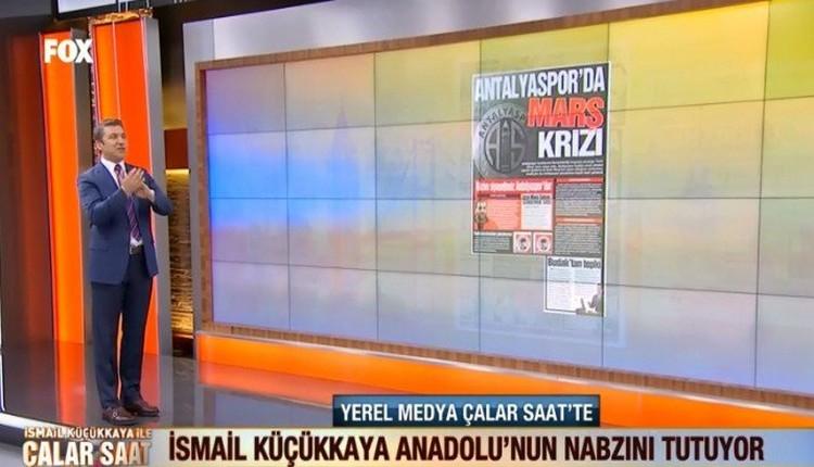 İsmail Küçükkaya'dan Antalyaspor yönetimine tepki!
