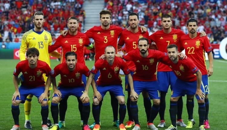 İspanya'nın Dünya Kupası kadrosu açıklandı