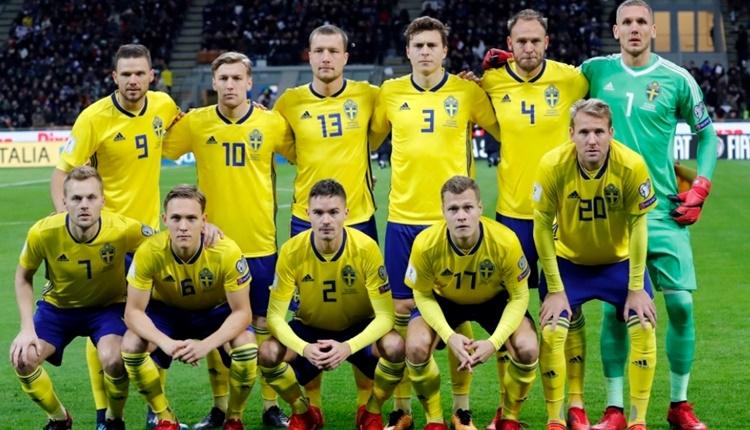 İsveç'in 2018 Dünya Kupası kadrosu açıklandı