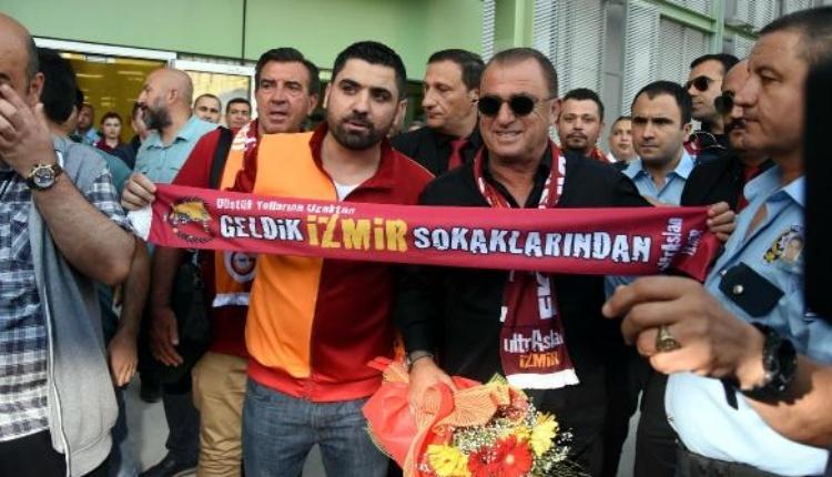 İzmir'de Fatih Terim izdihamı