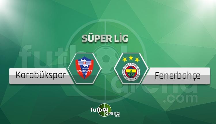 Karabükspor - Fenerbahçe beIN Sports canlı şifresiz izle