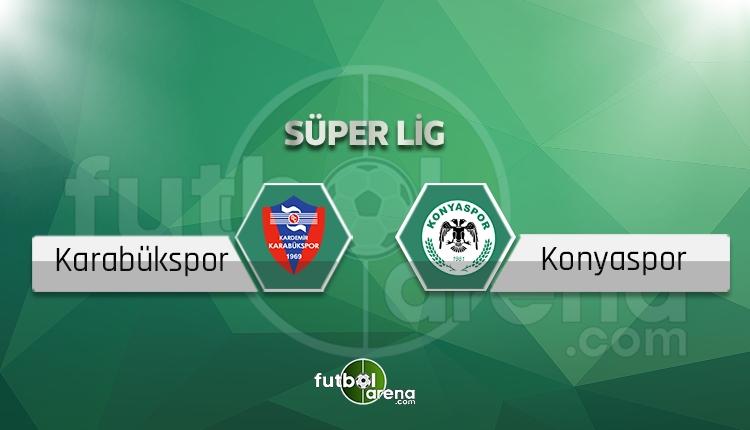 Karabükspor Konyaspor BeIN Sports canlı izle