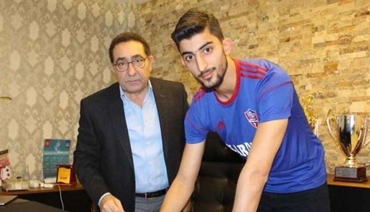 Karabüksporlu futbolcudan beIN Sports canlı yayınında Filistin mesajı