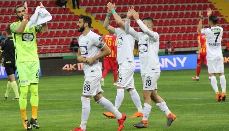 Kayserispor Akhisar maç özeti ve golleri izle
