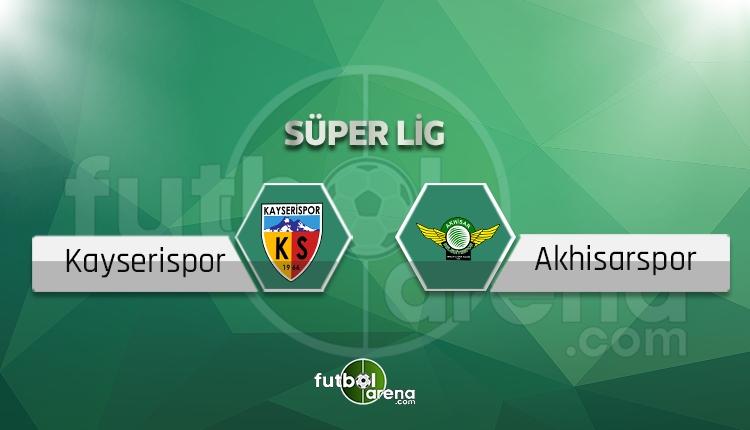 Kayserispor - Akhisarspor beIN Sports canlı şifresiz izle