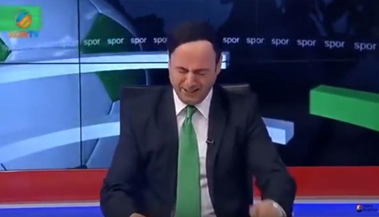 Konyaspor ligde kaldı spiker göz yaşlarını tutamadı (Konya Tv spikeri ağladı İZLE)