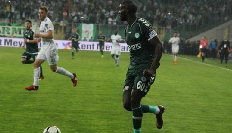 Konyaspor'da Yatabre 3 ay sonra sahada