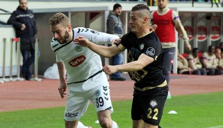 Konyaspor'un en golcüsü Nejc Skubic
