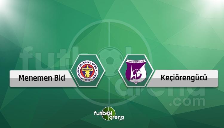 Menemen Belediyespor - Keçiörengücü play-off maçı ne zaman? (2. Lig play-off eşleşmeleri )