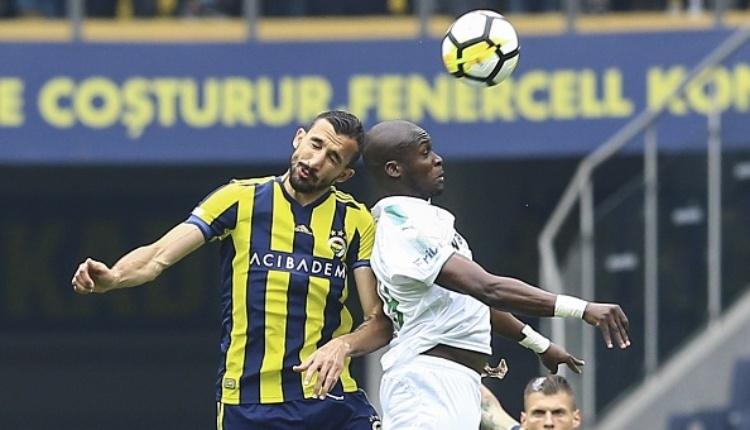 Moussa Sow'dan Fenerbahçe kalesine gol (Moussa Sow'un kendi kalesine attığı gol)