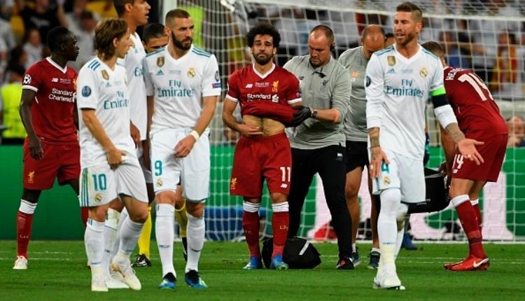 Muhammed Salah, Real Madrid finalinde sakatlandı (Salah'ın sakatlandığı pozisyonu İZLE)