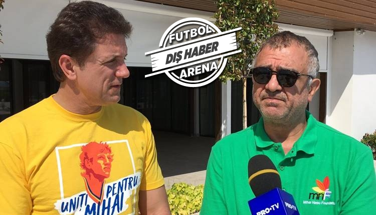Popescu'nun UEFA finalinde giydiği kramponları Bayram Tutumlu aldı