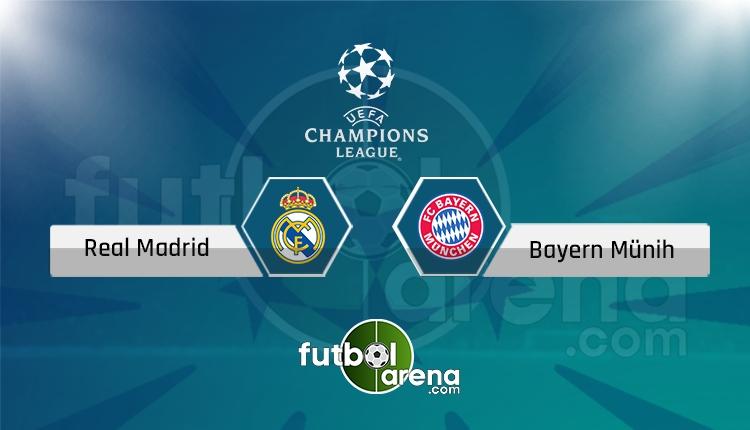 Real Madrid Bayern Münih maçıcanlı şifresiz izle (Real Madrid - Bayern Münih hangi kanalda?)
