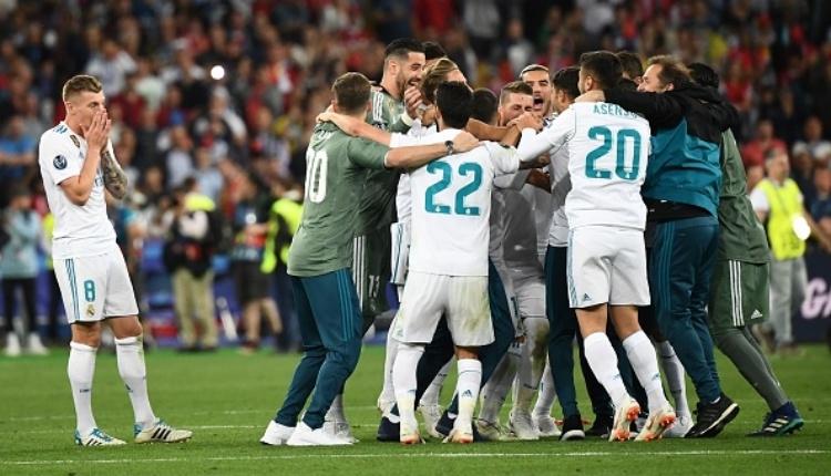 Real Madrid, Şampiyonlar Ligi'ni gelenek haline getirdi (Real Madrid, Liverpool maç özeti)