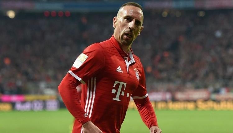 Ribery'den Galatasaray paylaşımı ''En büyük Cimbom!''