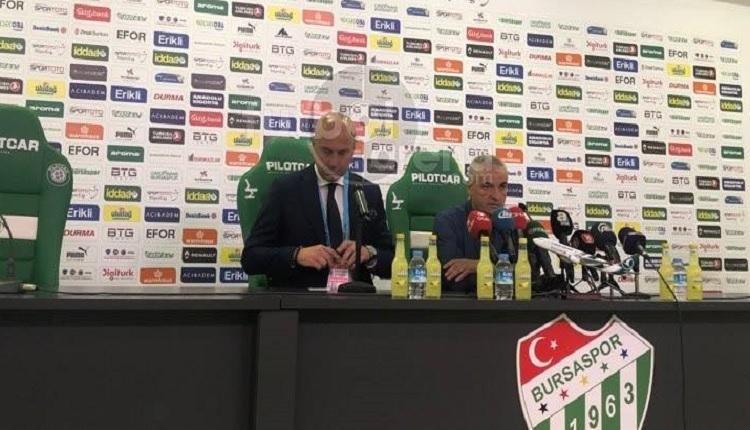 Rıza Çalımbay: 'Bursaspor'u burada yenmek kolay değil'