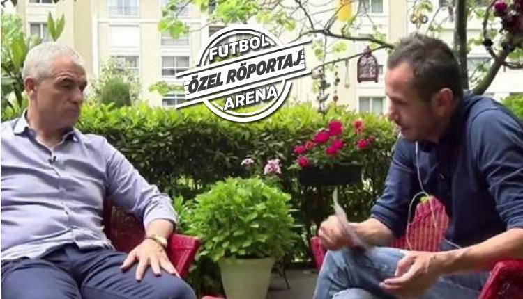 Rıza Çalımbay, FutbolArena'ya konuştu