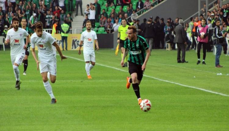 Sakaryaspor 1-1 Bandırmaspor maç özeti ve golleri