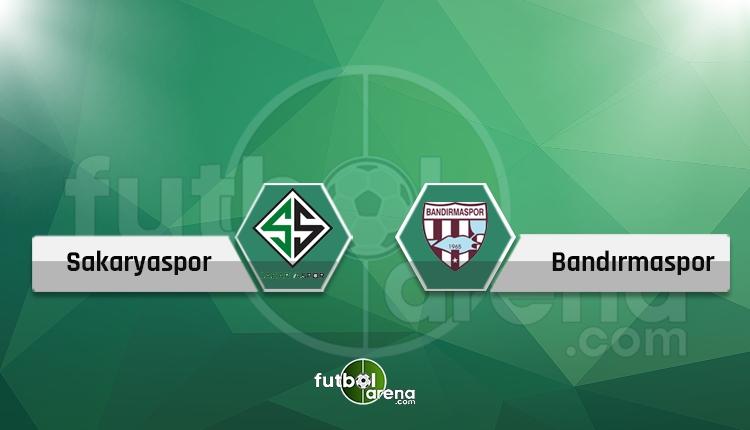Sakaryaspor - Bandırmaspor canlı İZLE (Sakaryaspor - Bandırmaspor play-off maçı hangi kanalda?)