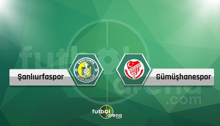Şanlıurfaspor 2-2 Gümüşhane maç özeti ve golleri