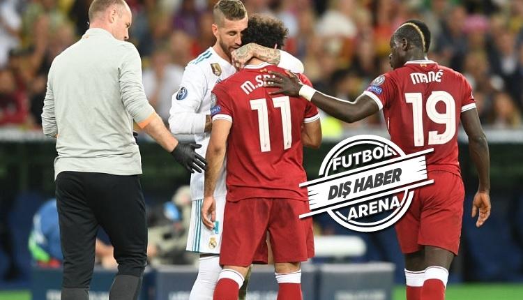 Sergio Ramos Salah'ın sakatlandığı pozisyonla ilgili konuştu