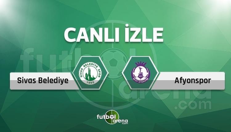 Sivas Belediye Afyonspor maçı canlı TRT Spor izle (Sivas Bld. Afjet Afyon izle)