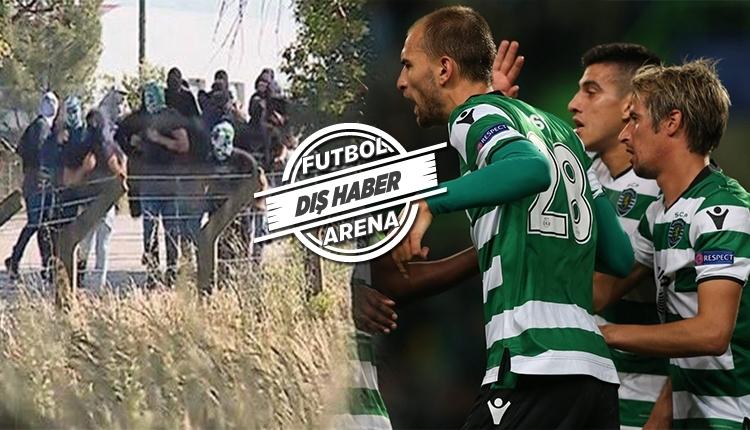 Sporting Lizbon futbolcuları saldırı sonrası ayrılma kararı aldı