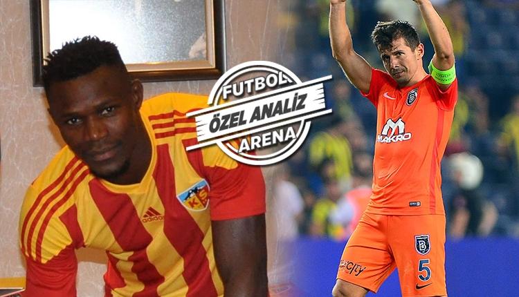 Süper Lig'de diyagonal pasın ustaları Emre Belözoğlu ve Badji