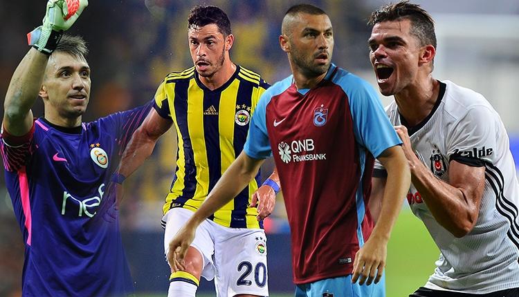 Süper Lig'de sezonun en iyi 11'i oylaması