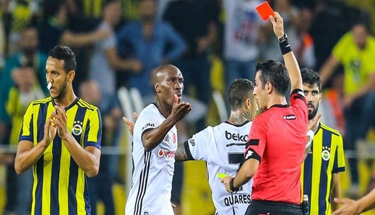 Süper Lig'de zirvedeki takımların rakiplerinde en fazlakırmızı kart gören takımlar