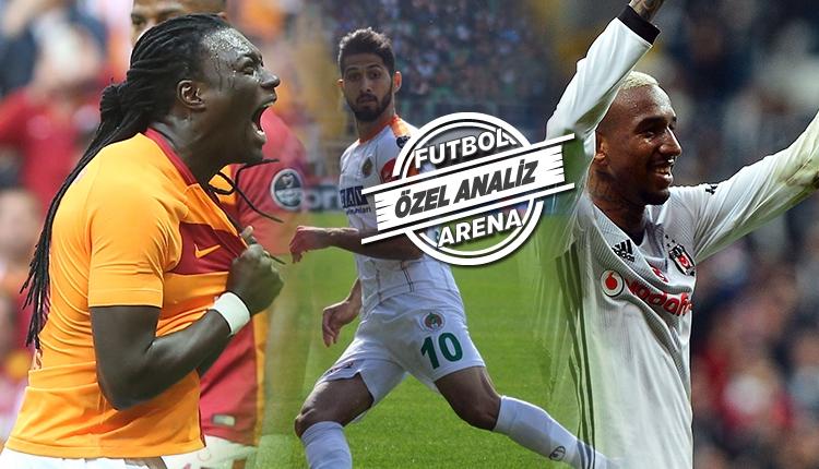 Süper Lig'in en iyi şutörleri...