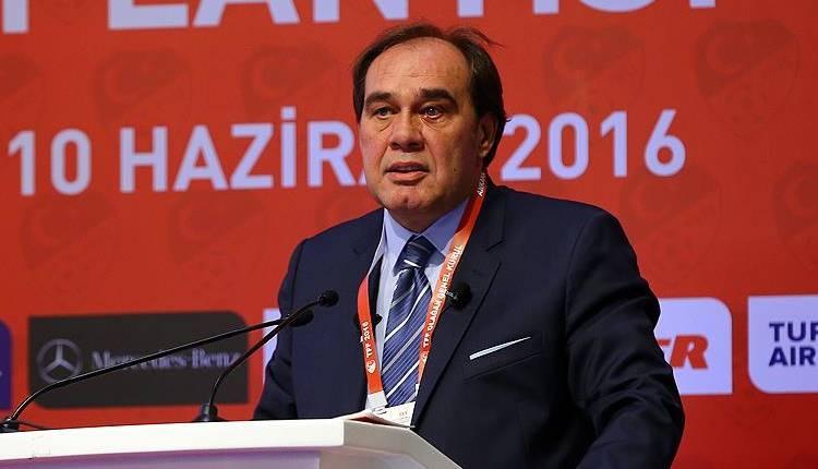 TFF Başkanı Yıldırım Demirören'den Almanya'ya Tayyip Erdoğan tepkisi