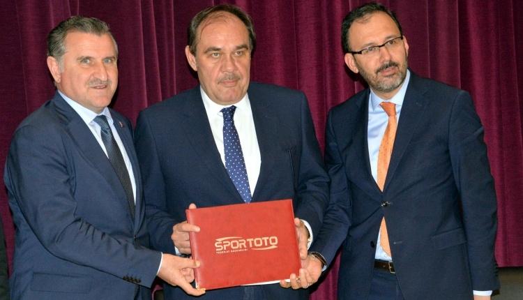 TFF ve Spor Toto sponsorluk anlaşması imzaladı