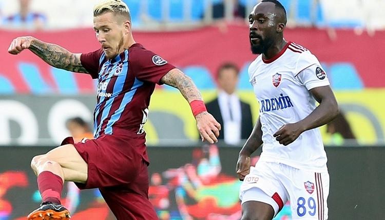Trabzonspor 3-0 Karabükspor maç özeti ve golleri (İZLE)