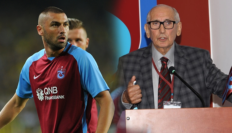 Trabzonspor'da Burak Yılmaz'dan Özkan Sümer'e olay yanıt