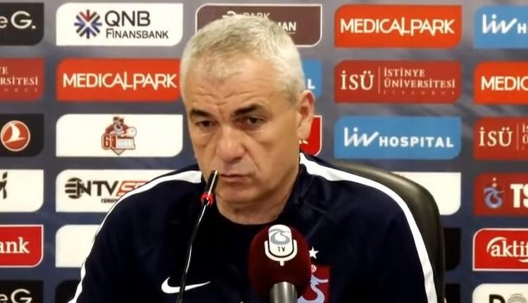 Trabzonspor'da Rıza Çalımbay isyan etti!
