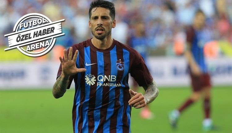 Trabzonspor'dan kritik Jose Sosa kararı! Beşiktaş...