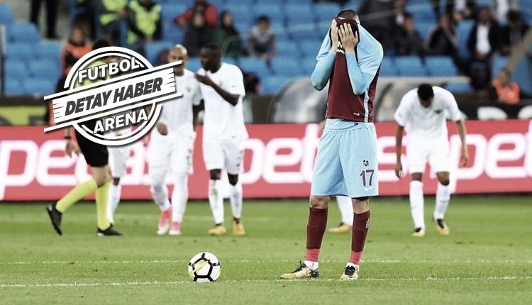 Trabzonspor'dan Süper Lig'de kötü rekor