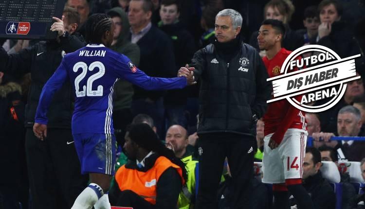 Haberleri: Manchester United ile Chelsea arasında dev takas! Willian - Martial