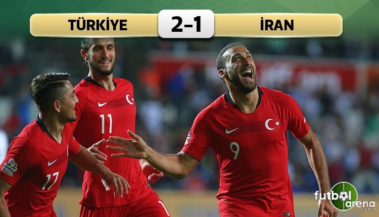 Türkiye 2-1 İran maç özeti ve golleri (İZLE)