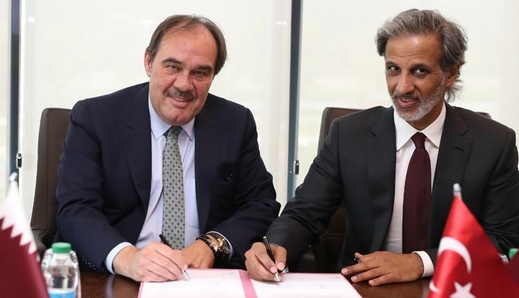Türkiye Futbol Federasyonu'ndan Katar ile işbirliği anlaşması