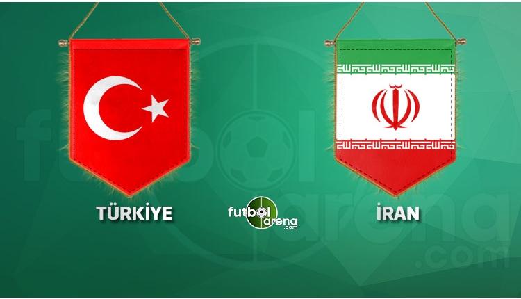 Türkiye ile İran karşı karşıya geliyor! İlk 11'ler
