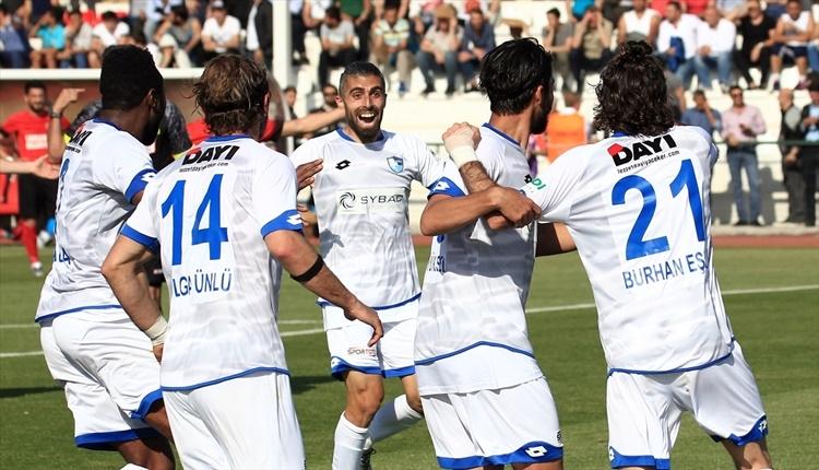 Ümraniyespor 1 - 2 BB Erzurumspor maçın özeti ve golleri (İZLE)