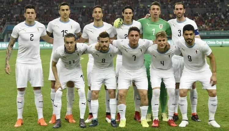Uruguay'ın Dünya Kupası kadrosu açıklandı