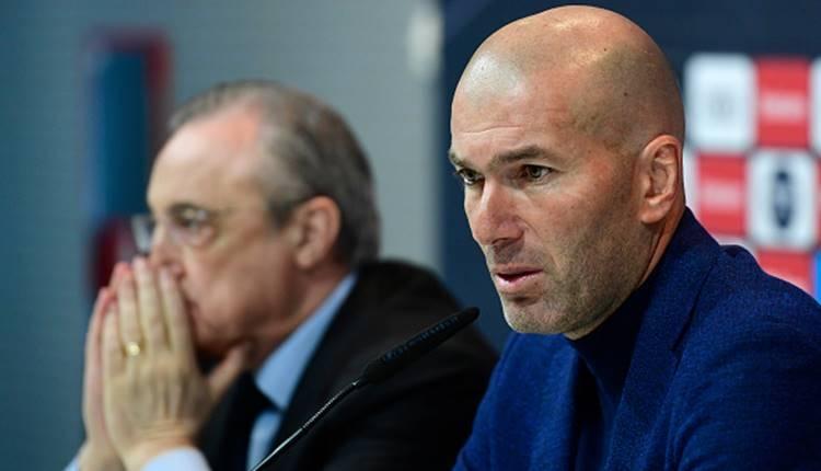 Zinedine Zidane Real Madrid'ten istifa etti!