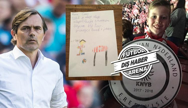 7 yaşındaki taraftardan Cocu'ya Fenerbahçe sorusu