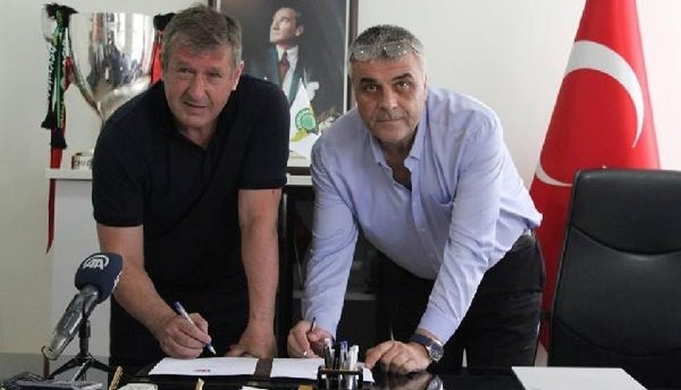 Akhisarspor'da Safet Susic imzayı attı