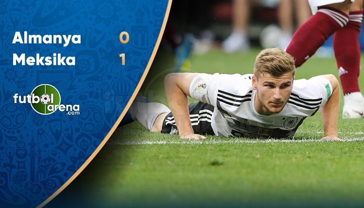 Almanya 0-1 Meksika maç özeti ve golleri (İZLE)